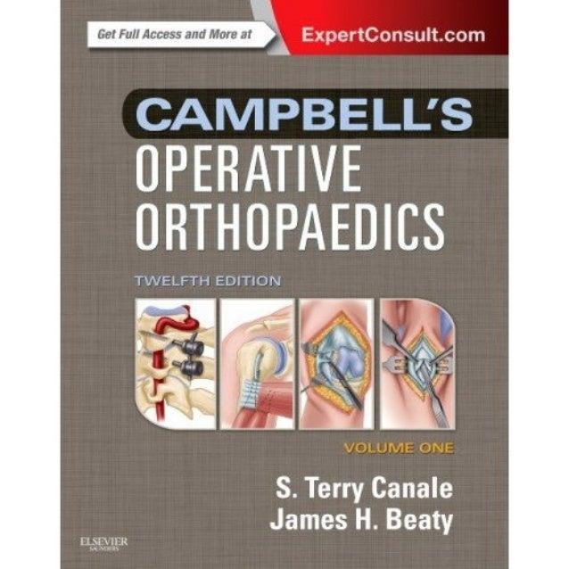 Campbell Operative Orthopaedics 12th Edition Torrent