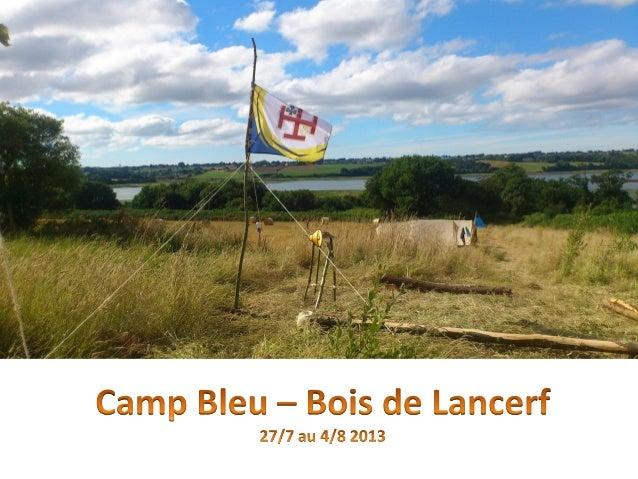Diaporama Camp SG 2013