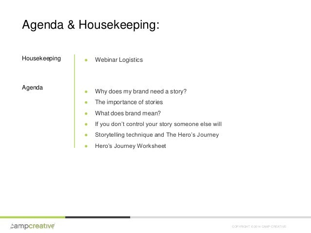 Camp Creative Webinar: The Hero's Journey and Your Brand Slide 2