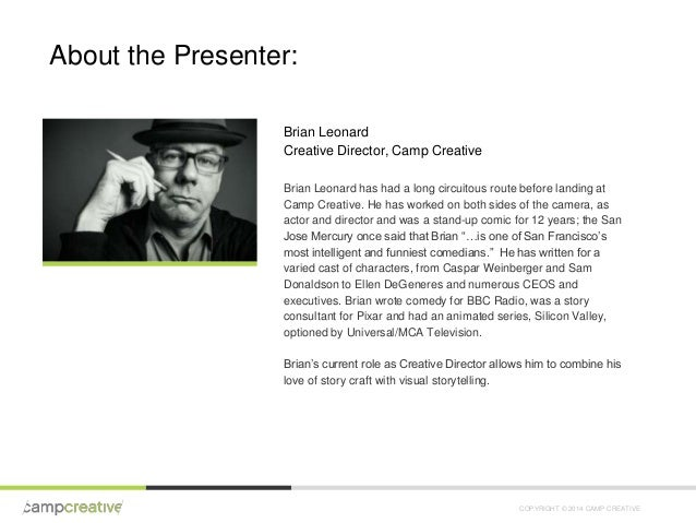 Camp Creative Webinar: The Hero's Journey and Your Brand Slide 3