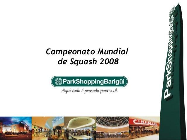 Campeonato Mundial  de Squash 2008