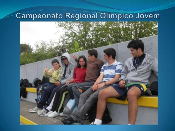 Campeonato Regional Olímpico Jovem<br />