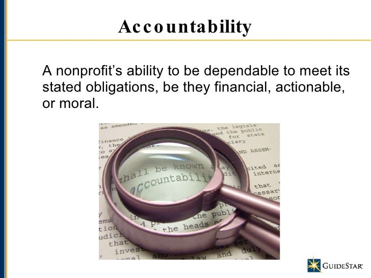 nonprofit transparency I wouldn't at the very least, the basic elements that demand transparency from a  nonprofit are: what are its mission, values, and vision who are the people who.