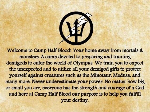Camp Half Blood Presentaion
