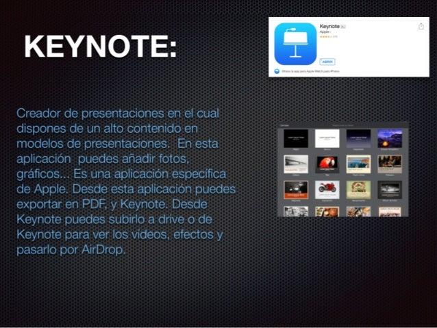 Apps que usamos en clase Slide 3