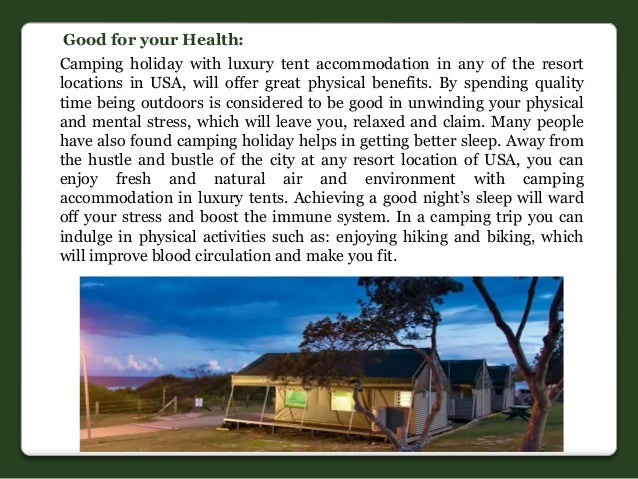 4.  sc 1 st  SlideShare & Camping trip with luxury tents in USA