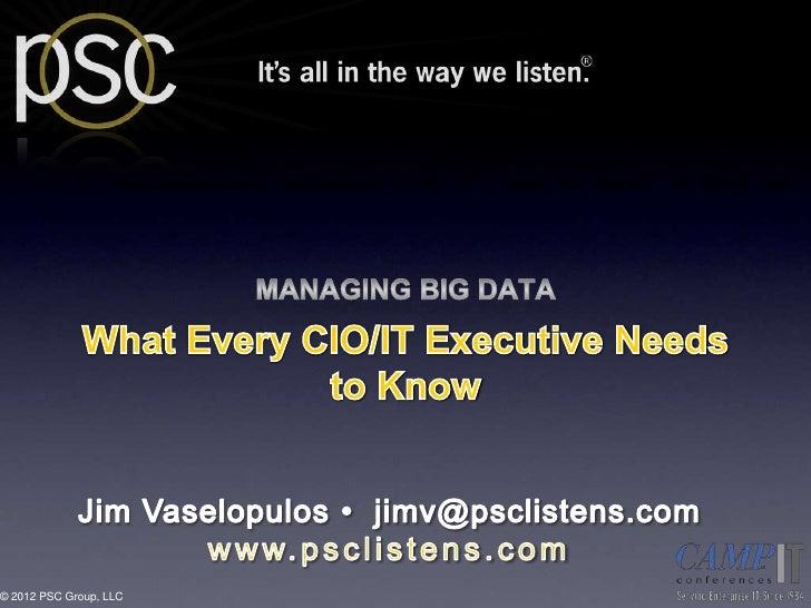 © 2012 PSC Group, LLC