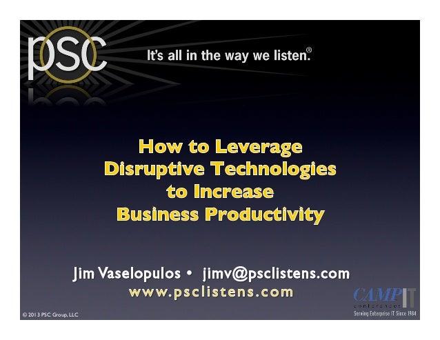 !  © 2013 PSC Group, LLC!