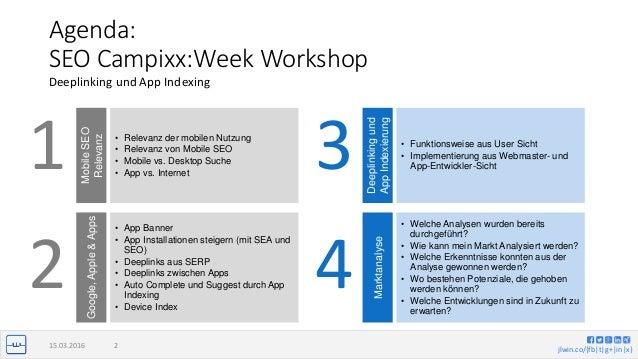 App Indexing, Campixx 2016 Workshop Slide 2