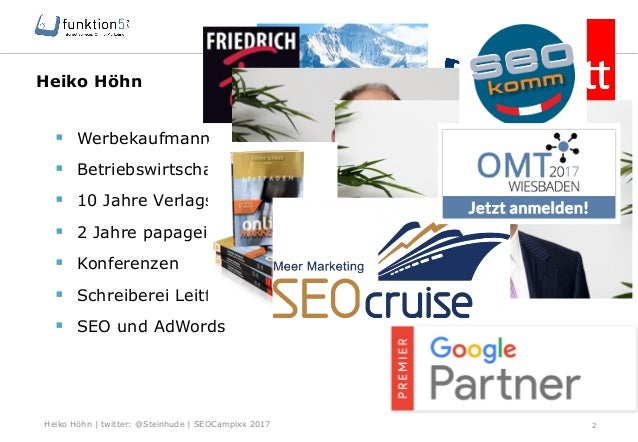Campixx 2017 SEO für KMU Slide 2