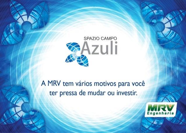 MRV Folder Campo azulli | São José dos Campos - SP