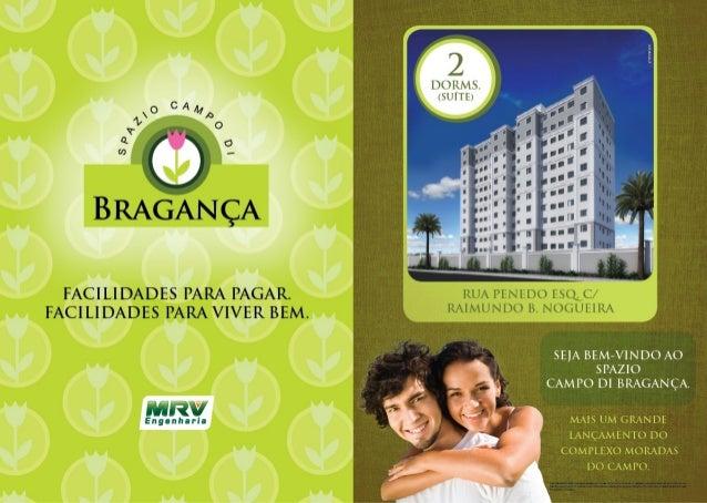 MRV Folder Moradas do Campo: Spazio Campo di Bragança | São José do Rio Preto - SP