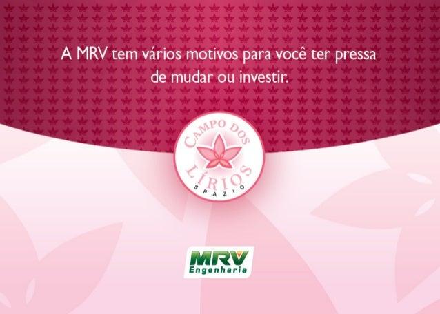 MRV Folder Campo dos-lírios | São José dos Campos / SP