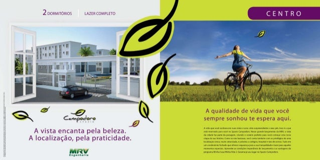 MRV Folder Campodoro | Araucária / PR