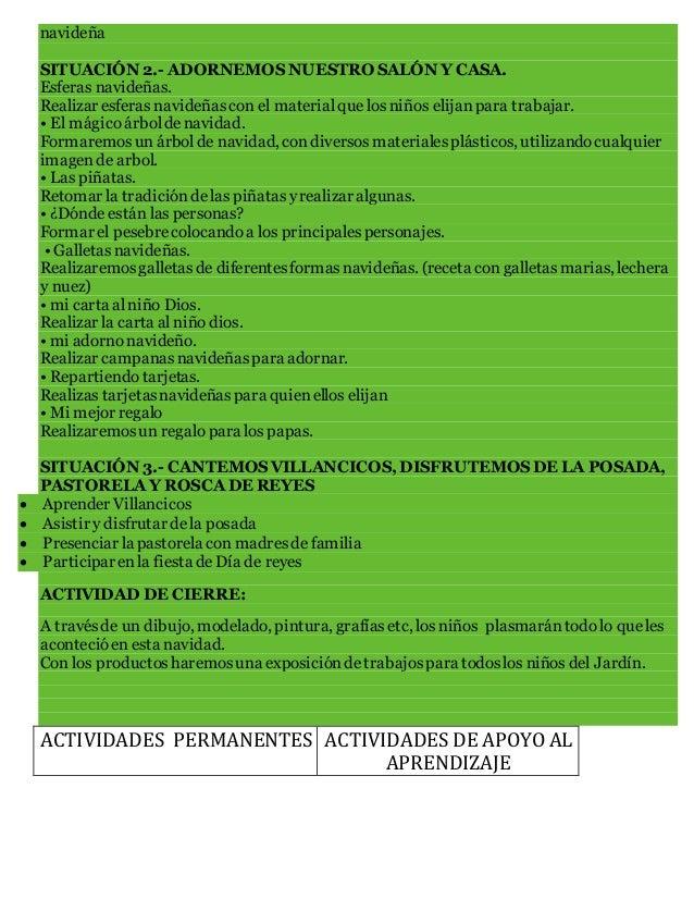 PROPUESTAS DE PLANEACION NAVIDEÑAS