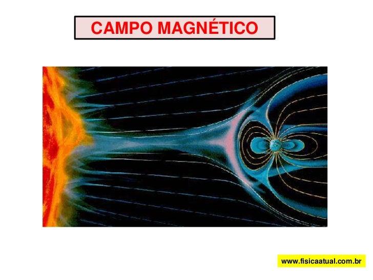 CAMPO MAGNÉTICO<br />www.fisicaatual.com.br<br />