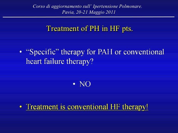 Ipertensione Polmonare nel Gruppo 2