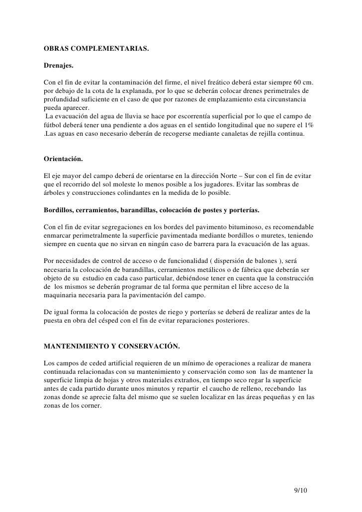 Campos De Cesped Artificial