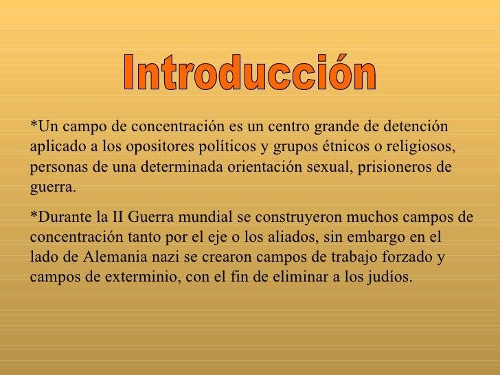 Campos De Concentracion!!