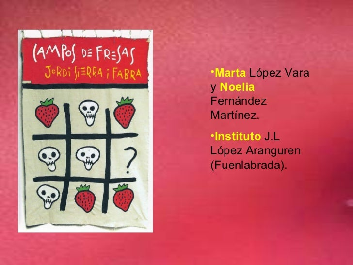 <ul><li>Marta  López Vara y  Noelia  Fernández Martínez. </li></ul><ul><li>Instituto  J.L López Aranguren (Fuenlabrada). <...