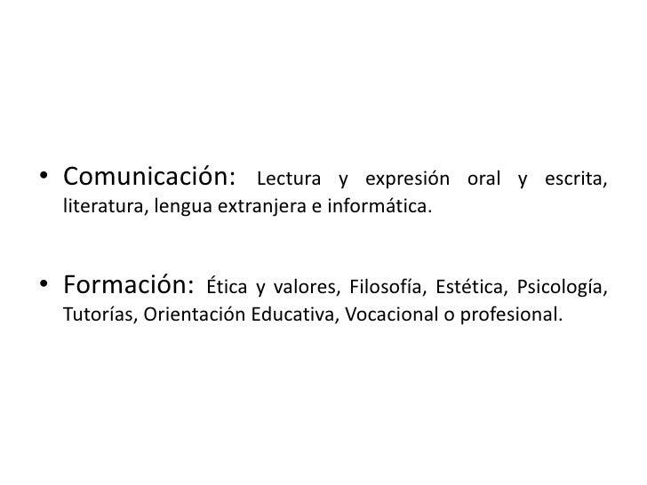 Campos Disciplinares Slide 3