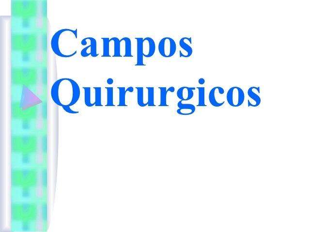 CamposQuirurgicos