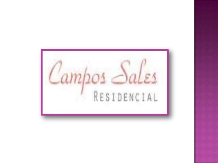 Campos sales residencial