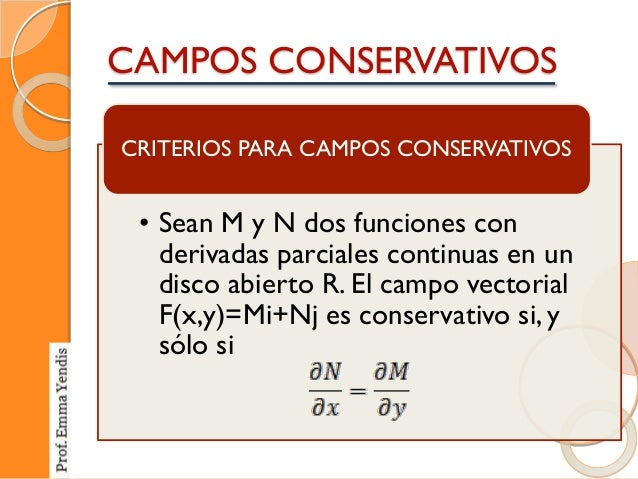 Campos vectoriales campos conservativos - Como vallar un campo ...