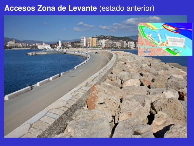 Accesos Zona de Levante (estado anterior)