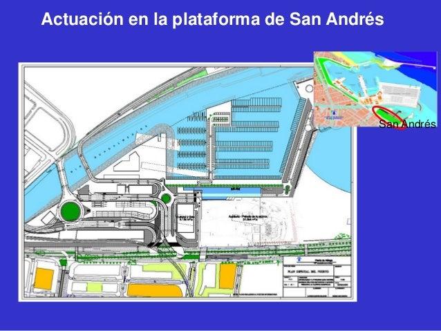 Actuación en la plataforma de San Andrés  San Andrés