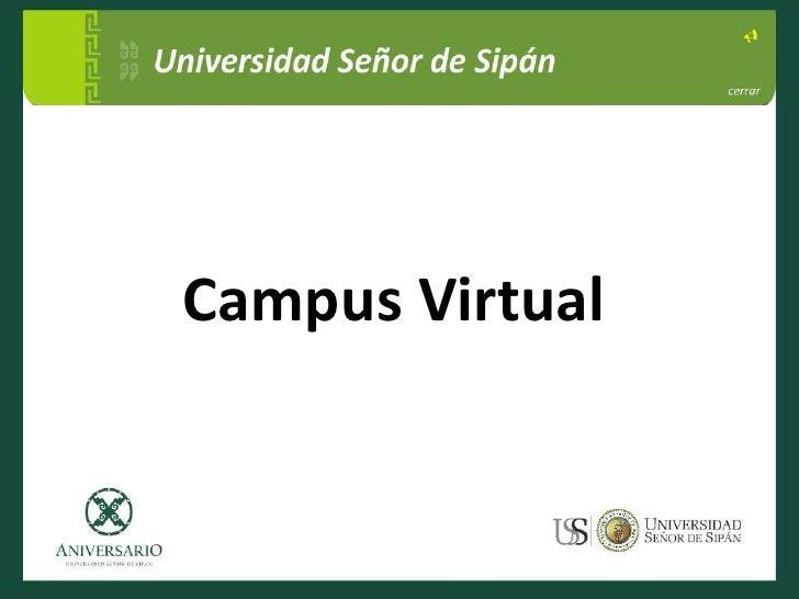 Campus Virtual<br />