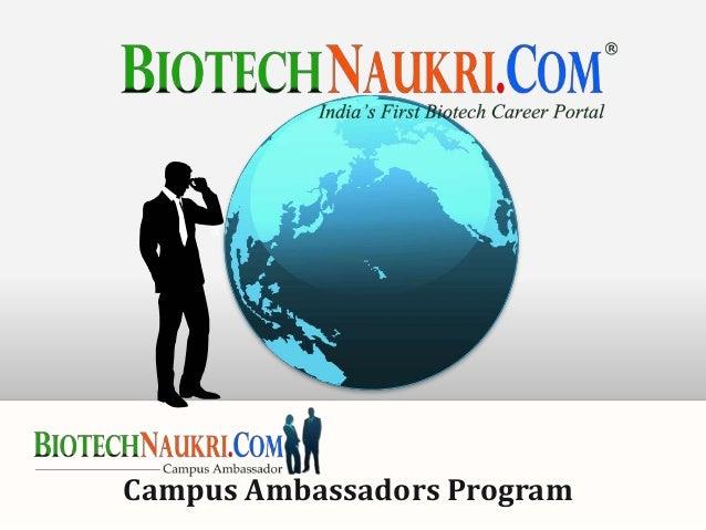 Campus Ambassadors Program