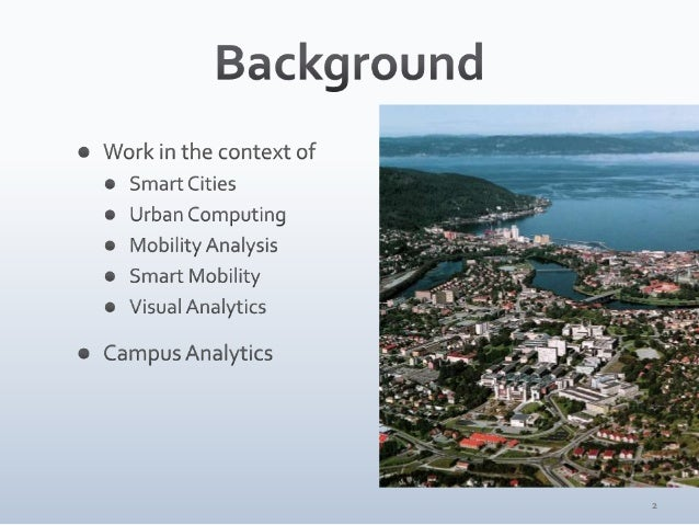 Visualizing a City Within a City — Mapping Mobility Within a University Campus Slide 2