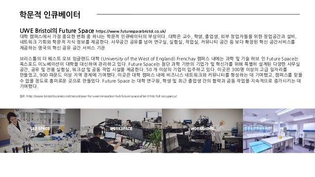 위 : 중앙 홀 전체를 사용하는 도서관 아래 : 무사시노 예술대학의 도서관 중앙 계단 위 : 무사시노 예술대학, 서가와 전시장 결합 그룹 또는 개별 독서를 위한 부스형태 공간