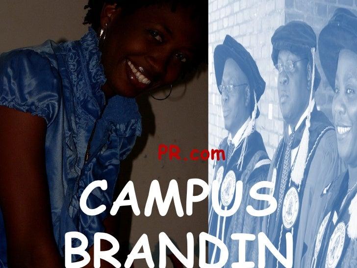 PR.com CAMPUS BRANDING