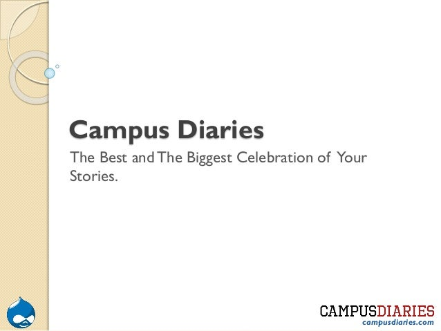 Campus Diaries The Best and The Biggest Celebration of Your Stories.  campusdiaries.com