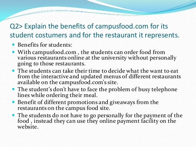 case study campus food systems In the heart of the ucla campus,  hospitality case study: hospitality,  systems are in place to ensure environmentally preferable purchasing policies,.
