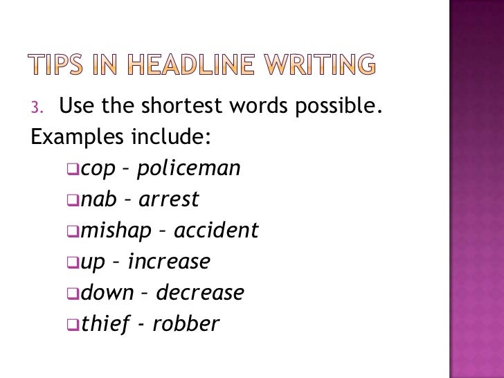copy reading and headline writing Headline formulas and the science of cro copywriting  writing a homepage headline is different than writing copy for a  reading your weekly.