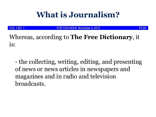 campus journalism announcement articles