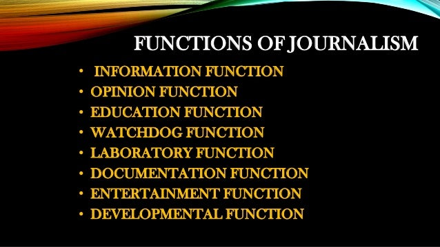 different types of journalism writing assignments
