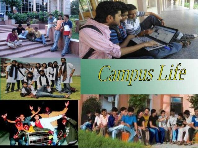 What constitute Campus life?