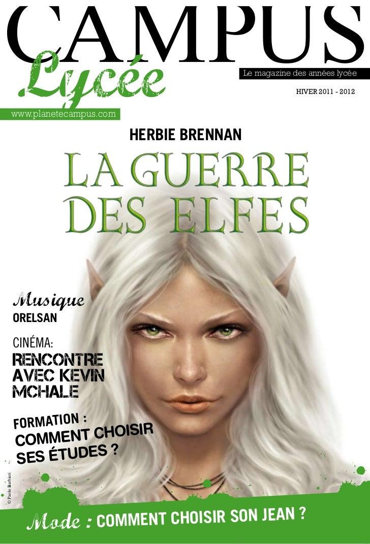 Lycée              www.planetecampus.com                                                       Le magazine des années lycé...