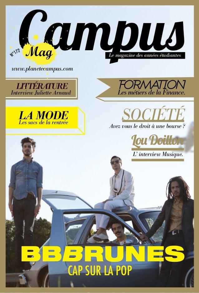 Campuswww.planetecampus.com                                Le magazine des années étudiantes  LITTÉRATUREInterview Juliett...