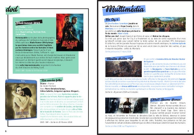 76 dvd Blade runner 2049 : SF/Thriller - USA De Denis Villeneuve Avec Ryan Gosling, Harrison Ford, Jared Leto… Remarquab...