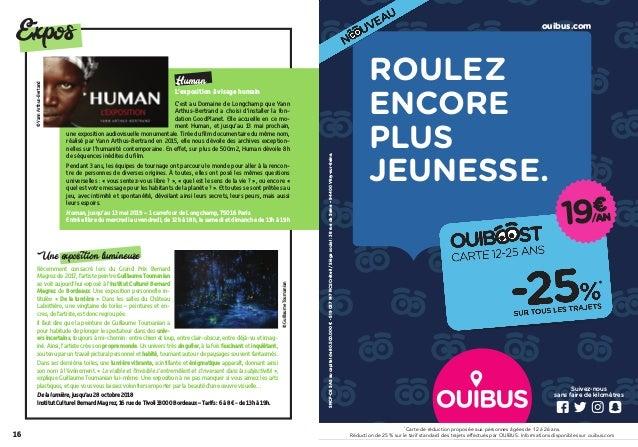16 Expos 19€ an * Roulez encoRe plus jeunesse. SNCF-C6SASaucapitalde80.500.000€-519037147RCSCréteil/Siègesocial:38ruedeSei...