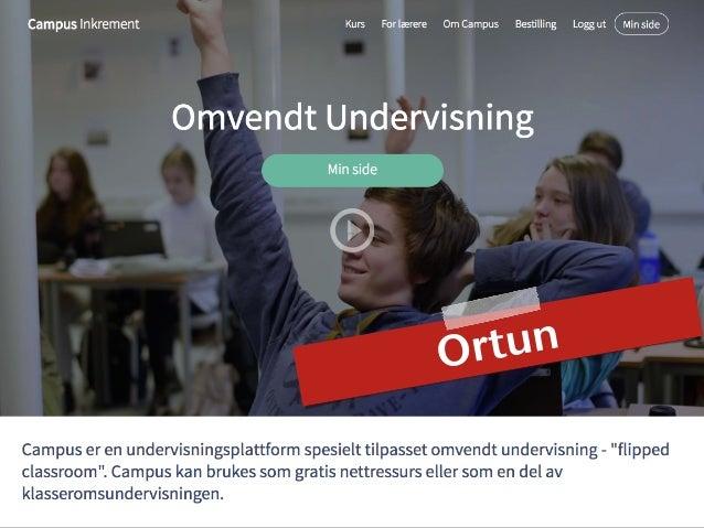 Differensiering ved bruk av digitale verktøy Ortun
