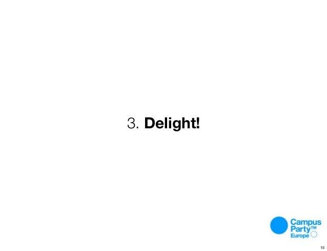 3. Delight! 15