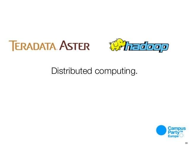 Distributed computing. 33