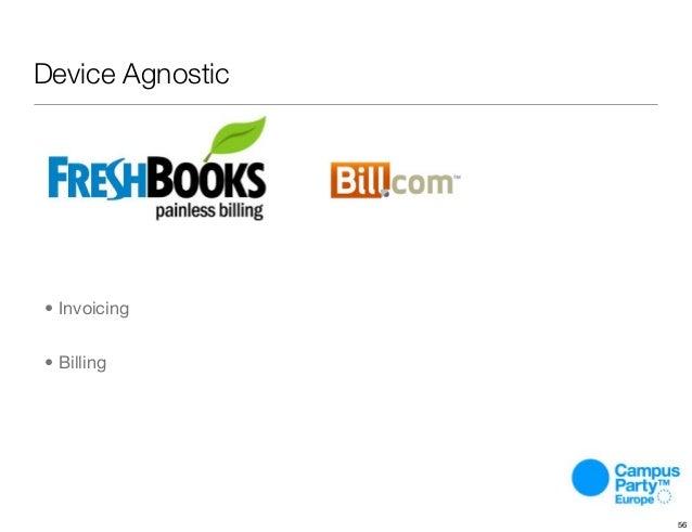 Device Agnostic • Invoicing • Billing 56