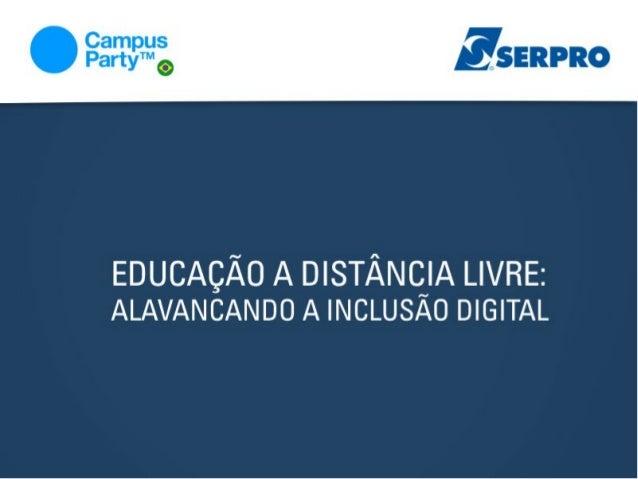 Educação a Distância Livre: Alavancando a Inclusão Digital